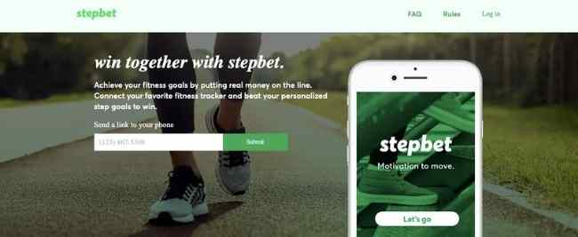 StepBet Apps that pay you to walk
