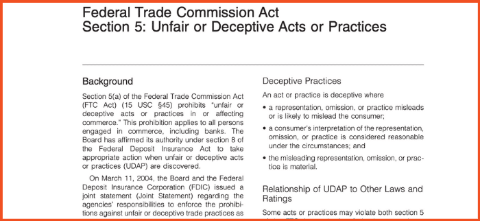 Federal Trade Commission Act